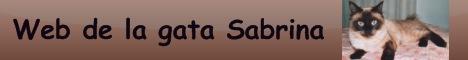 Banner de la web de Sabrina